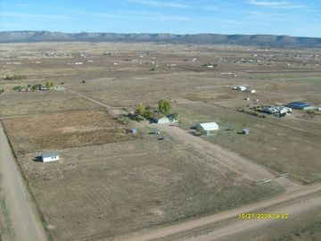 Prescott Valley chateau / country house rental - Aerial view of ranch