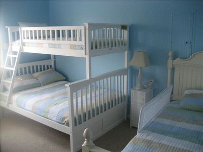 "Kids will love the bunk beds and 32"" Plazma TV."