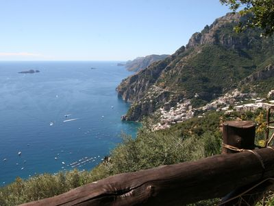 Positano farmhouse rental - VIEW FROM THE PROPERTY