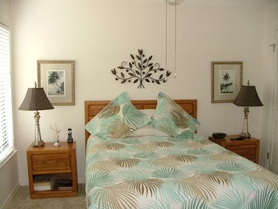 The Master Bedroom with a Queen Bed!