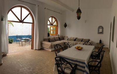 image for House in the centre of the medina of Asilah. 3 double bedrooms. Patio and terrace with views to the medina walls.