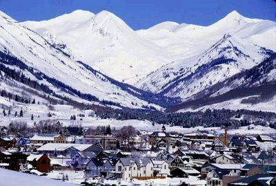 Town and Paradise Divide in Winter