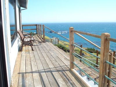 Top deck with amazing full oceanfront view - south and all the way to the north