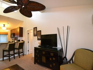 Lahaina condo photo - Enjoy a quiet evening at home in front of our brand new flat screen TV