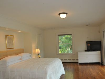 Master bedroom with views to Long Island Sound