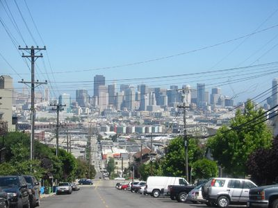Downtown view from De Haro St & Southern Heights