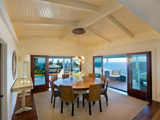 Hanalei house photo - Dinig Room with Ocean Views