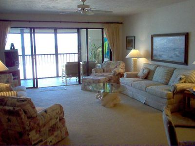 Large living room.