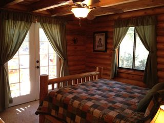 Duck Creek Village cabin photo - Master Bedroom View 2
