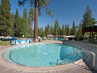 Northstar recreation center - private club. Large spa.