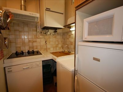 Ternes apartment rental - The fully equipped kitchen