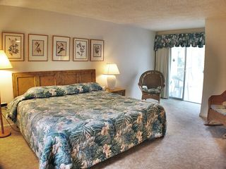 Sanibel Island condo photo - Large Master Suite w/ King Bed opens to Lanai
