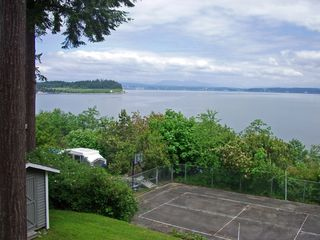 Camano Island house photo - Full Sports Court and Plenty of Recreation