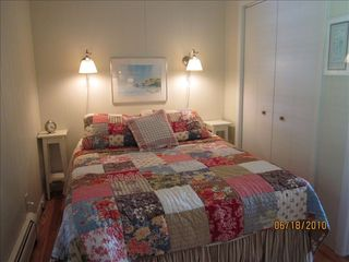 Ellison Bay cottage photo - The master bedroom...