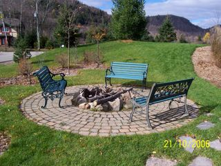 Mont Tremblant townhome photo - Bonfire Area