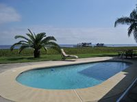 Lake Front 3 Bedroom 2 Bath Swimming Pool Executive Home Pets Welcome