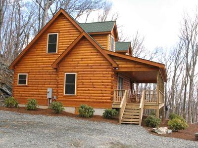 in secluded log vacation cabin of image boone cabins tubs rental fresh hot nc tub with rentals