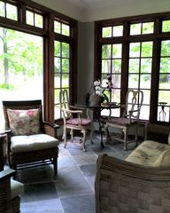 Saugatuck / Douglas cottage photo - Sun Porch in the Afternoon
