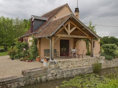 Domaine de Baratte 120 ha, charming cottage in the heart of the park de la brenne