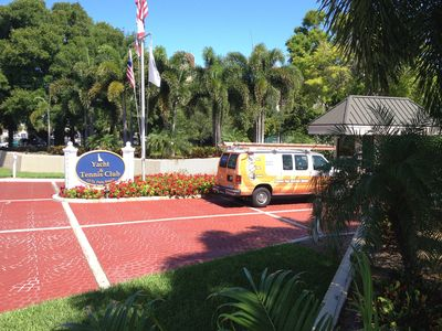 St. Pete Yacht & Tennis club is gated with 24 hr. security