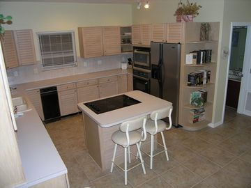 Spacious, Modern and fully equipped Kitchen of 3 Bedroom Unit