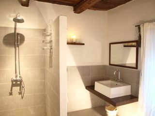Antognolla farmhouse photo - Bathroom; shared between the 2nd Double Room and Twin Room