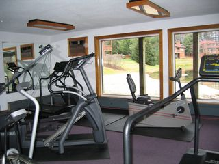 North Woodstock townhome photo - Cardio room overlooking the beach