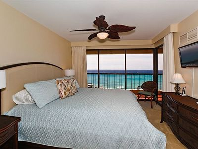 Master Bedroom with Ocean View.
