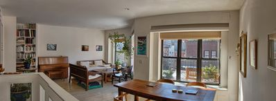 Beautiful apartment with balconies and views, near park and museums in Nolita