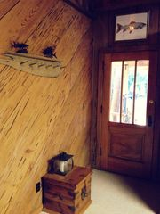 Apalachicola cabin photo - front door