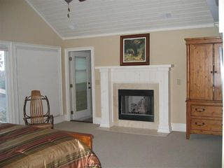 Big Canoe house photo - Has its own fireplace!