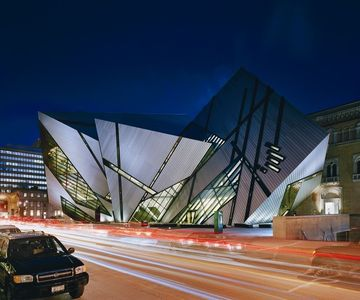 The Royal Ontario Museum, home of millions of artifacts from around the world