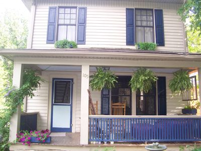 Asheville house rental - Relax and rock your cares away on the Front Porch.