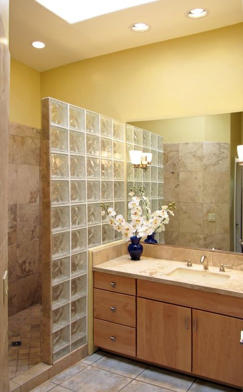 master bath boasts extra large shower