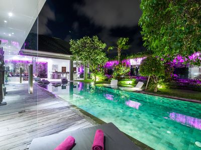 Luxurious and peaceful villa in Seminyak  with view on the rice field