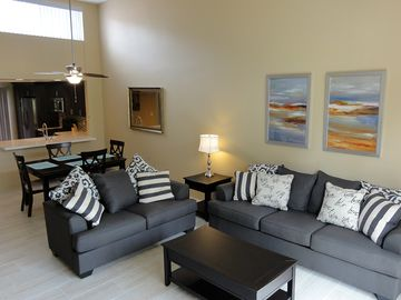 La Quinta condo rental - Enjoy our completely remodeled condo on the 12th fairway of the Stadium course.