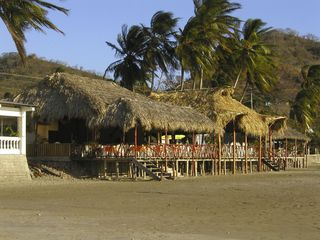 San Juan del Sur condo photo - Plenty of Beachside dining options