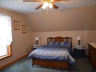 Conway house photo - Bedroom with double bed, sleeps 2