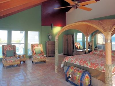 Cat Island house rental - One of the two master bedrooms