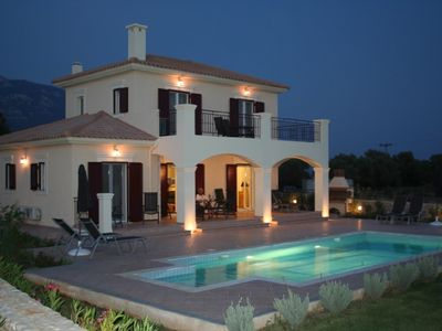 Villa Tychia - Beautiful  Luxury Villa In Stunning Position Kefalonia.