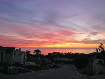 Cambria house rental - Sunset