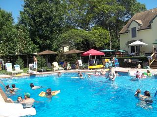 Hampton Bays house photo - Fun in the pool!