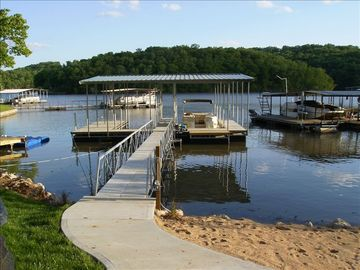 2 Well Boat Dock, 2 PWC Slips & Private Sandy Beach