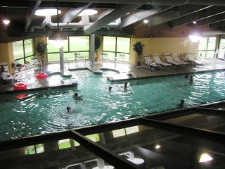 Lincoln townhome photo - Indoor Pool @ Loon Mountain Club FREE Access For Our Guests