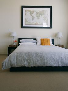 2nd Level Bedroom with Queen size bed