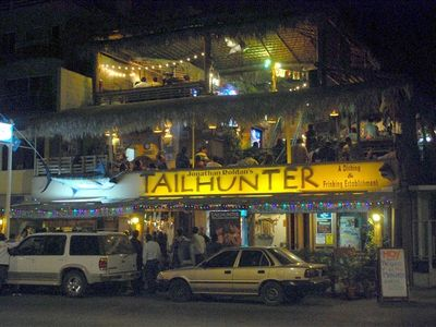 Tailhunter Bar - The favorite hang out for many foreign visitors and locals.