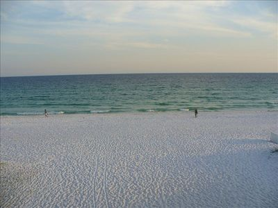 Miles of powder white sand!