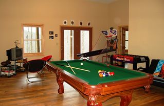 Ellijay cabin photo - Entertainment Room