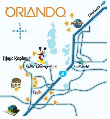 We are located 2 miles from Disney World, minutes to all of Orlando attractions
