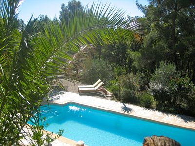 Beautiful Provencal Villa, AC, Private Heated Pool, One Storey living